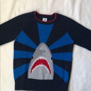 3/$25 GAP boys shark sweater
